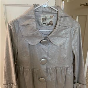 Fun For Holidays - Kensie Silver Shimmer Jacket